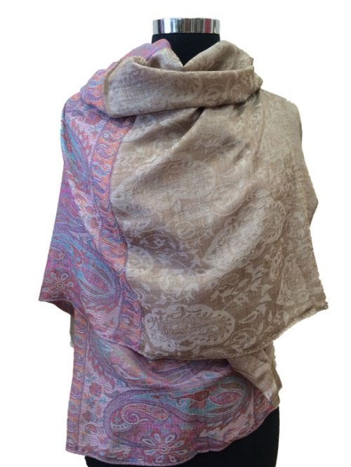 Jacquard Wool Wrap