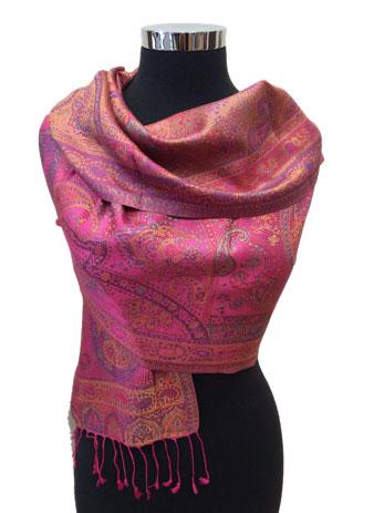 Silk Jamavar Wraps