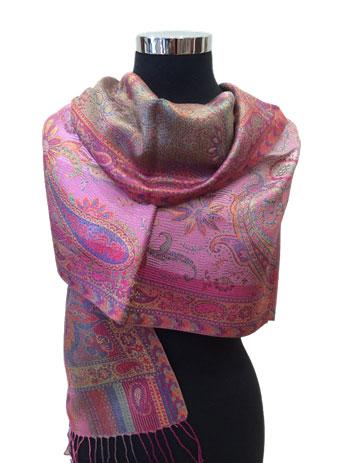 Jamavar Silk Wrap