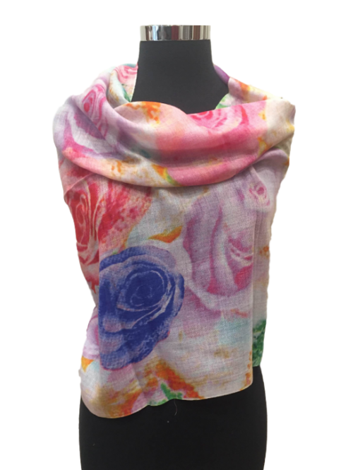Printed Wool Stole