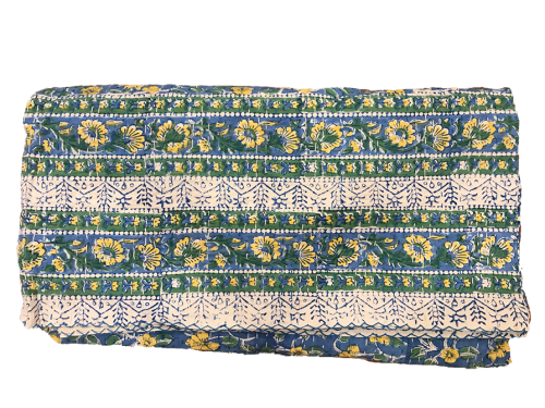 BLOCK PRINT GUDRI THROW 103