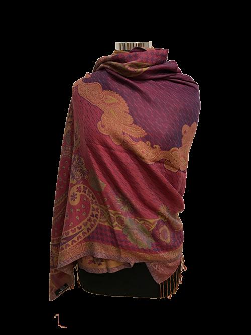 wool shawl 043